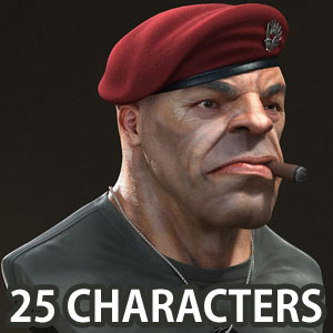 25 Astonishing 3D Character Designs for your inspiration