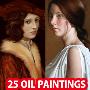 30 Mind-Blowing Glamorous Oil Paintings by Tom Lovell, Hamish Blakely and Raipun