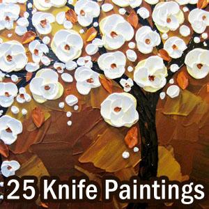 Palette Knife Paintings