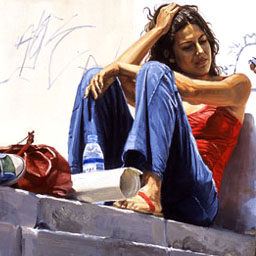 25 Awesome Urban Youth Paintings by Michele Del Campo