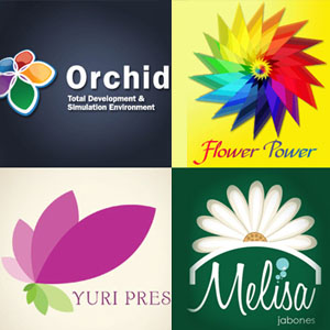50 Creative Flower Logo design Inspiration - Part 2