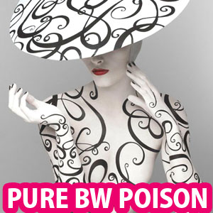 Pure Poison in Black and White  - 15 Awesome Fashion Photographs by PatrizioDiRenzo