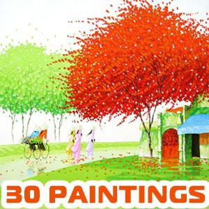30 Mind-Blowing and Vivid Paintings by Phan Thu Trang - Award winning Landscapes