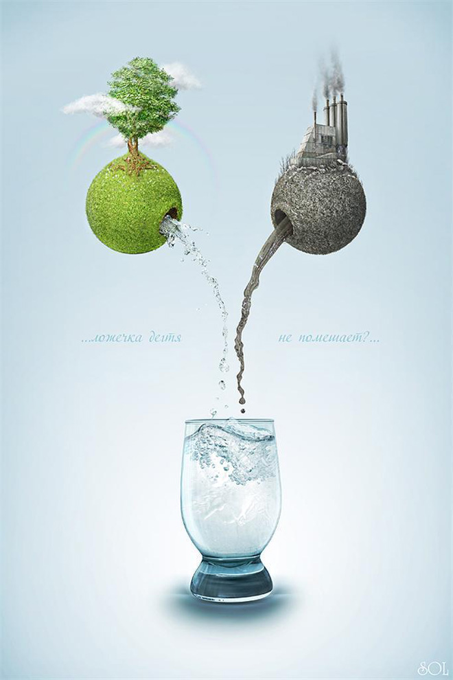 global warming awarness poster design%20(2) 33 Creative Global Warming Poster Designs for your inspiration