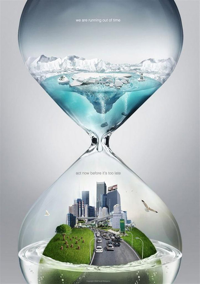 global warming awarness poster design%20(3) 33 Creative Global Warming Poster Designs for your inspiration
