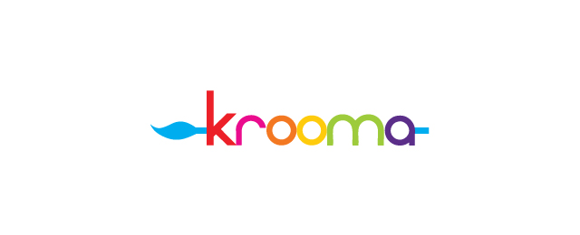multi color logo