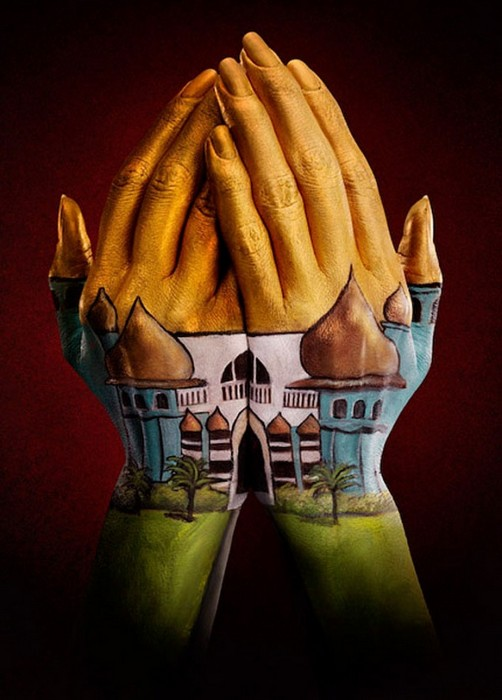 hand painting illusion