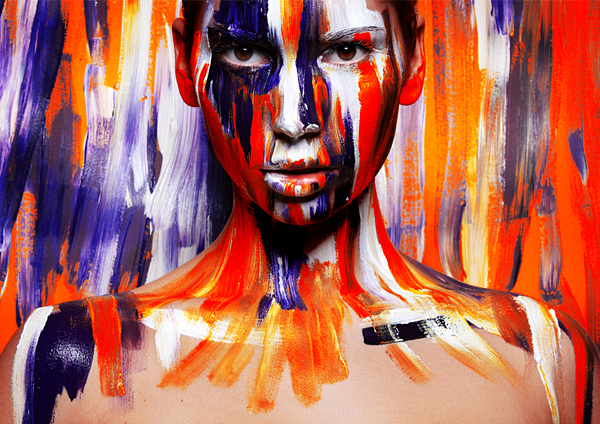 pop out painting%20(4) Inspiring Pop out Paintings by Viktoria Stutz