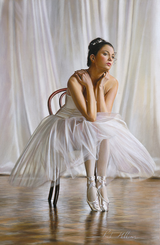 Glamour Oil Paintings Rob Hefferan