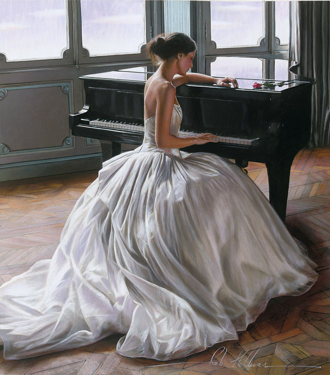 Picture-3 ( 26 Realistic and Glamorous Oil Paintings by Famous Artist Rob Hefferan )