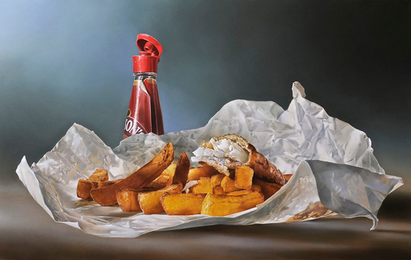 Picture-16 ( 25 Mega Realistic Oil Paintings by Dutch Artist Tjalf Sparnaay )