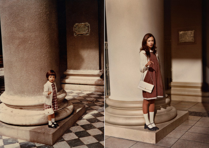 Picture-18 ( Back to The Future - 25 Old and New Photographs by Irina Werning )