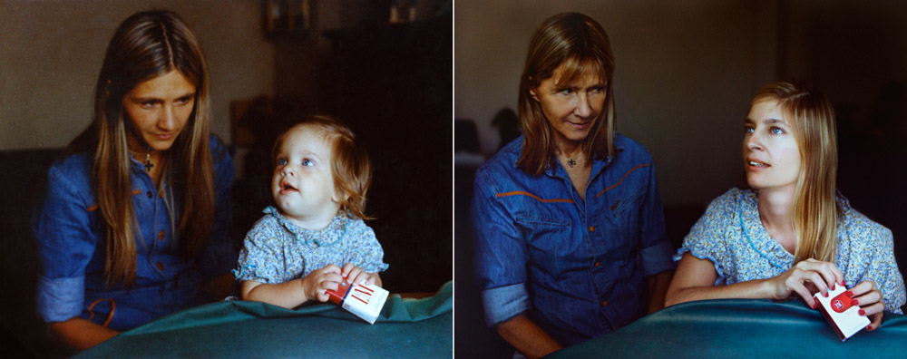 Picture-4 ( Back to The Future - 25 Old and New Photographs by Irina Werning )