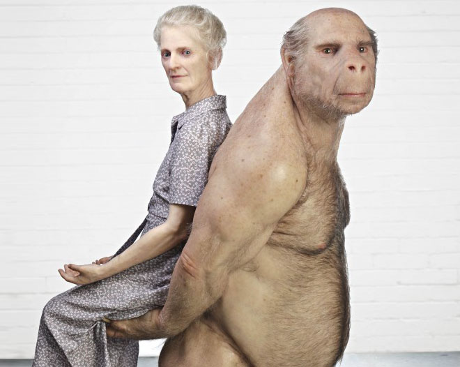 Amazing art sculpture Patricia Piccinini