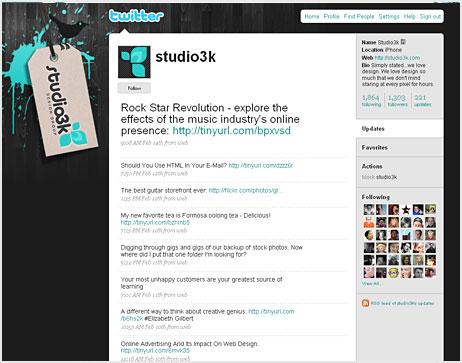 40 Beautiful Twitter Page Themes