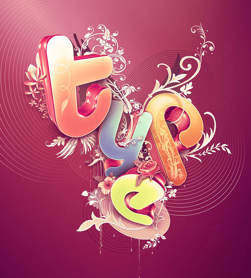 beautiful typography design%20(4) 25 Creative Typography Designs   Testing the boundaries of creativity