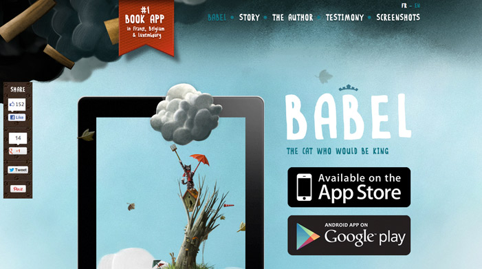 babel the king ideas for designing a web - Web Design Ideas
