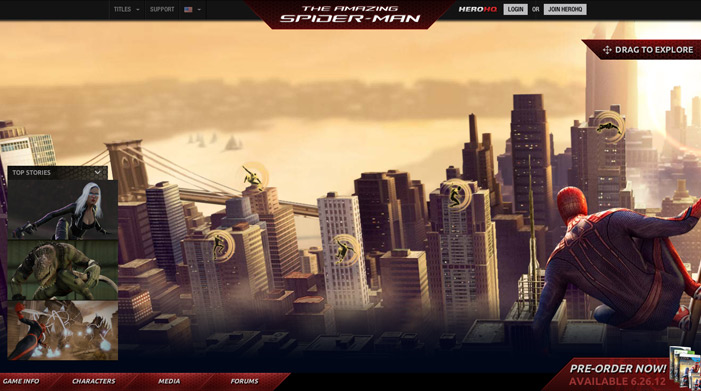 25 Animated Home Page Web Design Examples For Your Inspiration Part 87