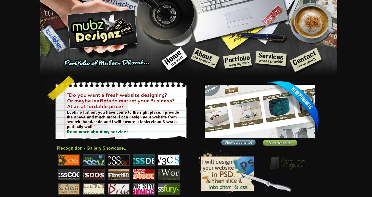 27 Beautiful Portfolio Website Design examples that will make you ...