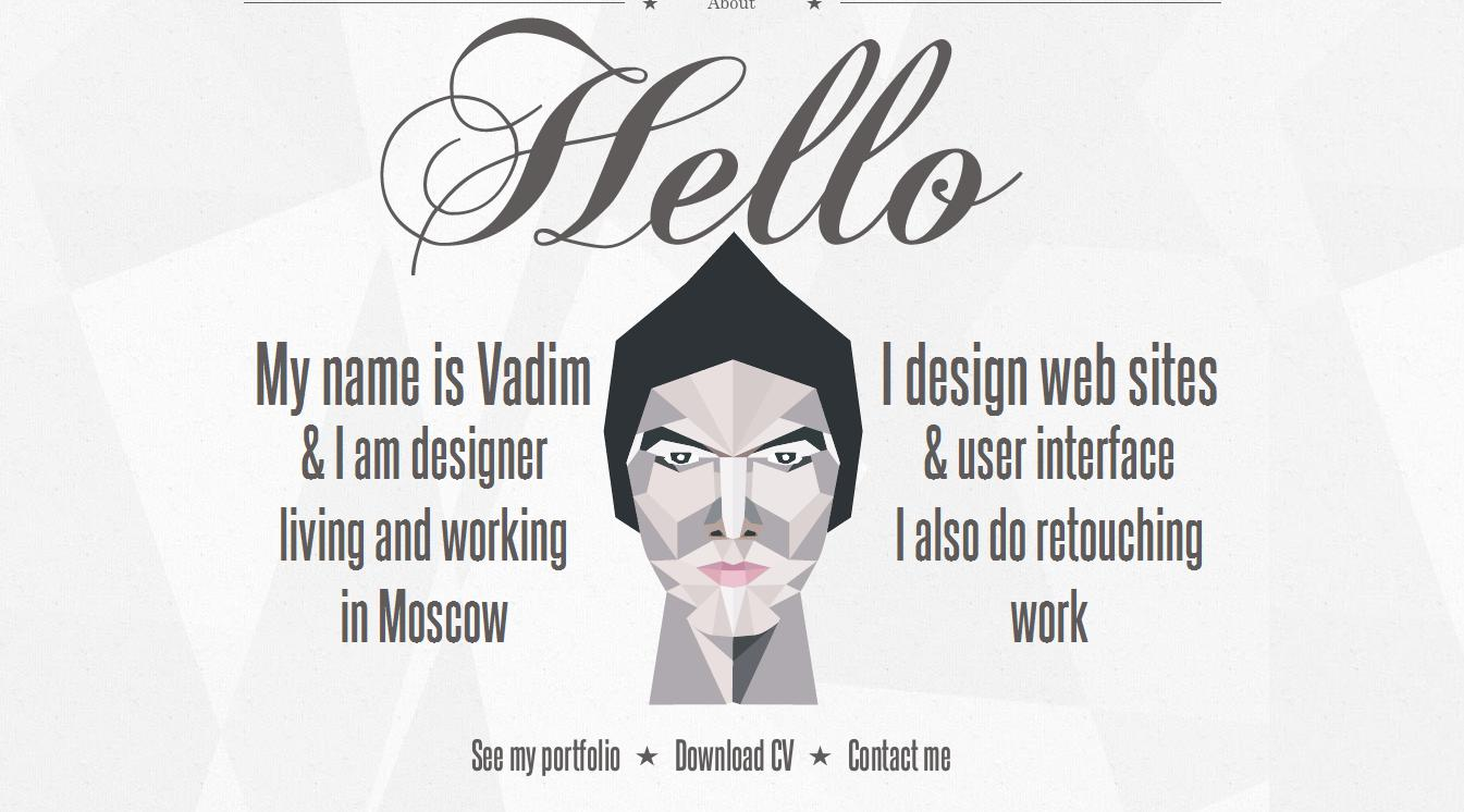 portfolio website - Graphic Design Portfolio Ideas