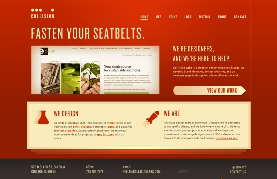 35 creative home page designs web design showcase - Website for home design ...
