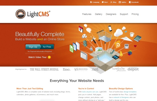 35 creative home page designs