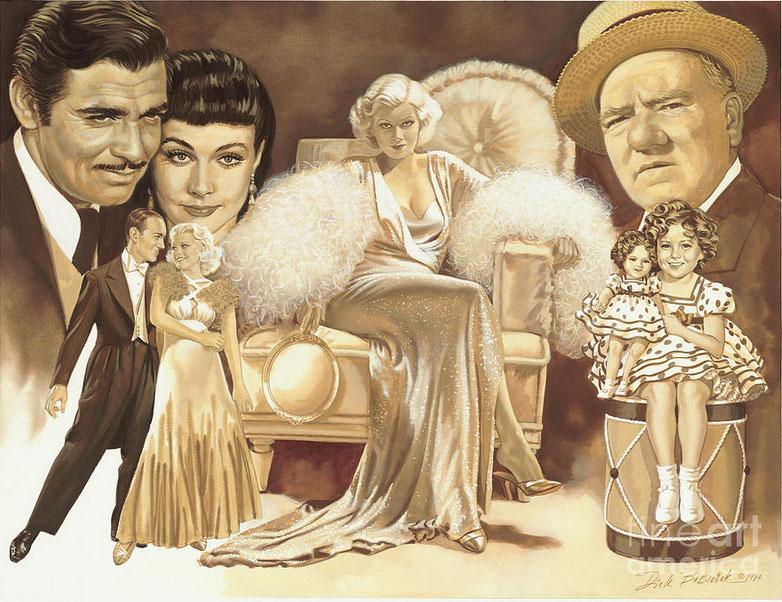 hollywoods golden era painting dick bobnick