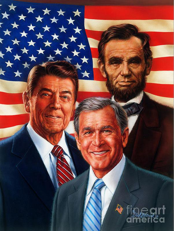 america president painting dick bobnick 2