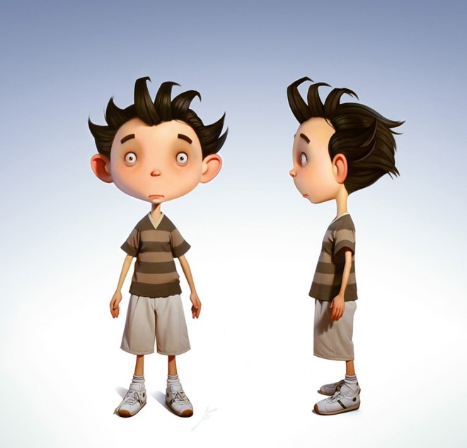 Design A Cartoon Character : Creative and beautiful d cartoon character designs