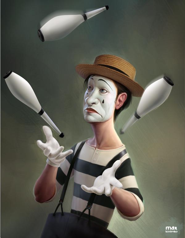 3d character digital max kostenko