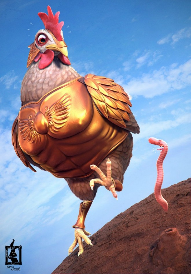20 most funniest 3d character designs