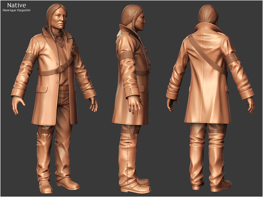 3d character model design 24 image 3d model sites
