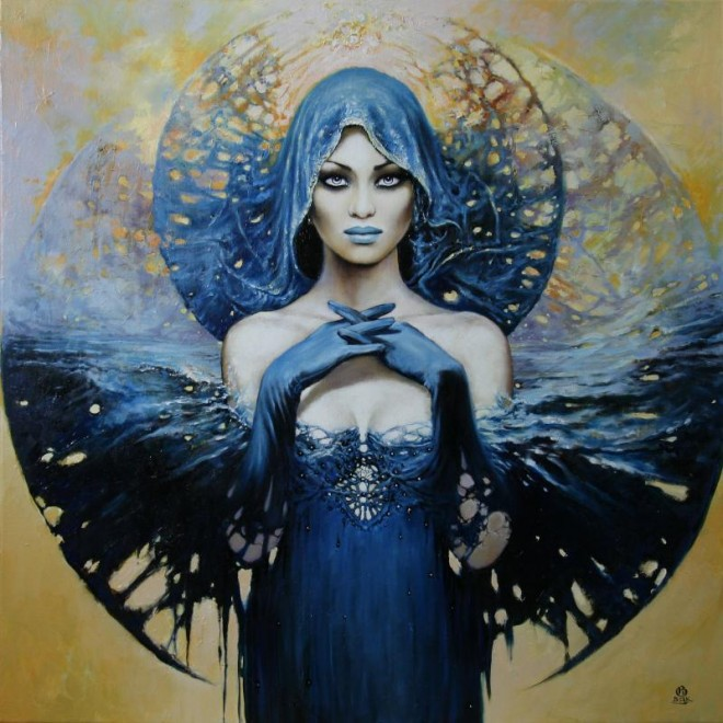 Between Dawn and Dusk Cycle by Artist Karol Bak (2)