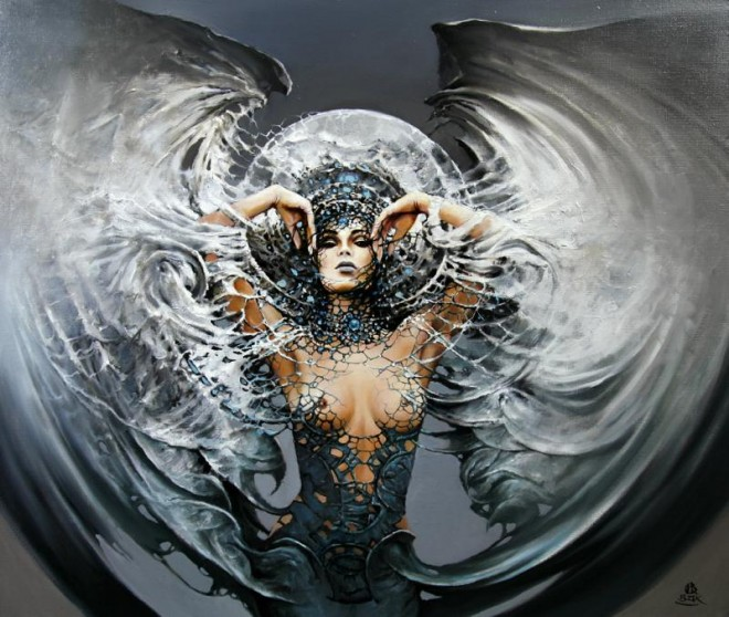 Between Dawn and Dusk Cycle by Artist Karol Bak (3)