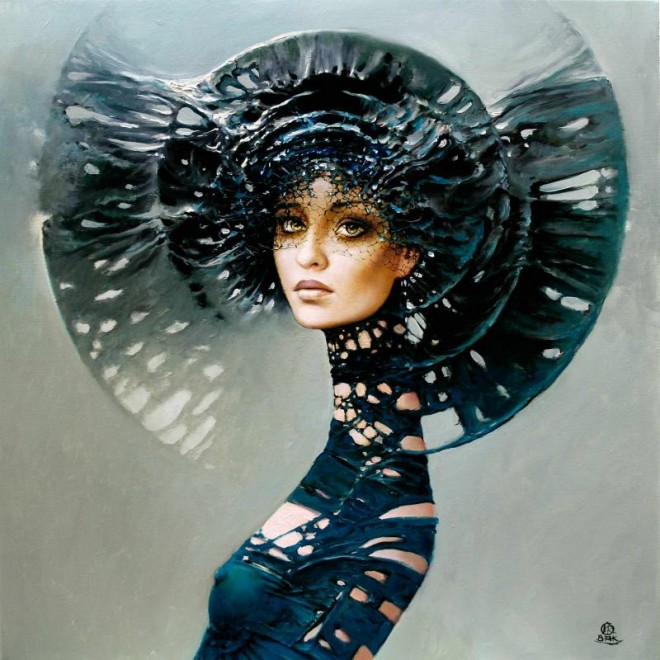 Between Dawn and Dusk Cycle by Artist Karol Bak (4)