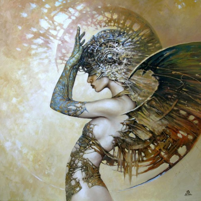 Between Dawn and Dusk Cycle by Artist Karol Bak (6)