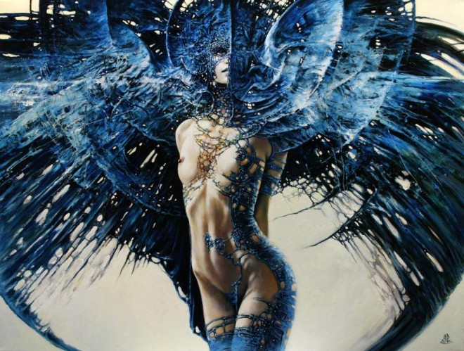 Between Dawn and Dusk Cycle by Artist Karol Bak (7)