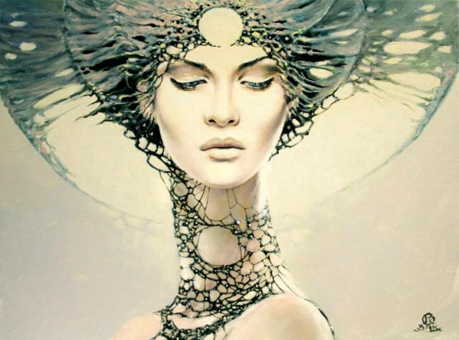 Between Dawn and Dusk Cycle by Artist Karol Bak