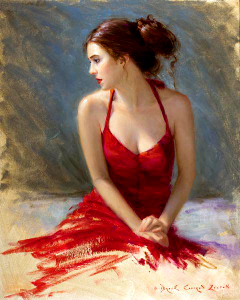 Bryce Cameron Liston oil painting