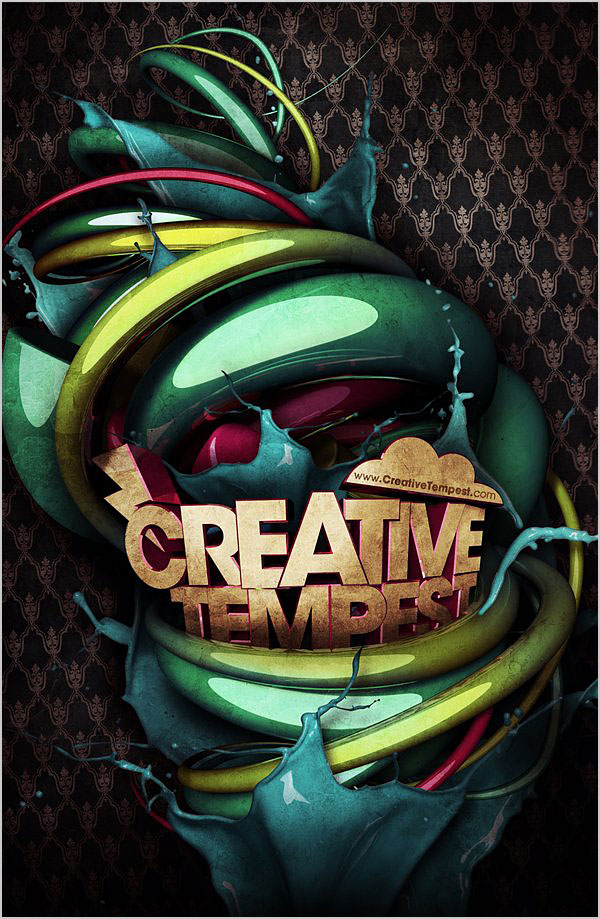 Creative 3D Typography (5)