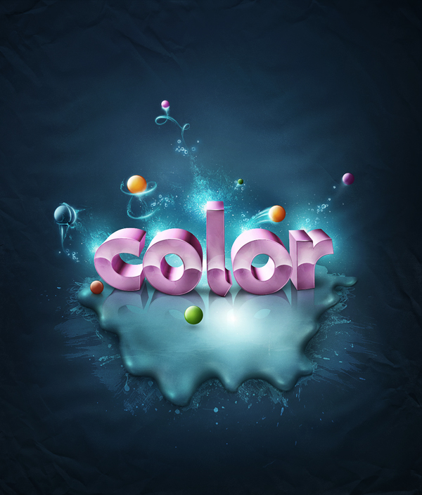 Creative 3D Typography (9)