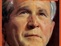 Daniel Adel Oil Portraits George Bush (4)