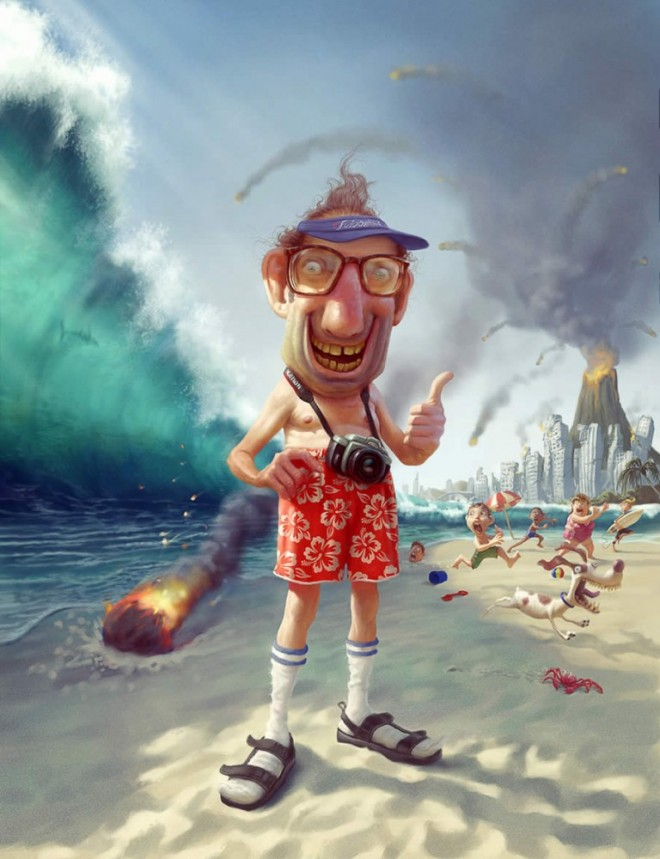 Digital Illustration from Tiago Hoisel