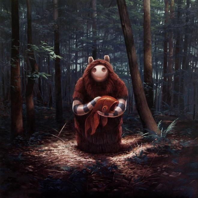 Digital paintings from Artist Shane Devries -7