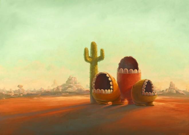 Digital paintings from Artist Shane Devries 19