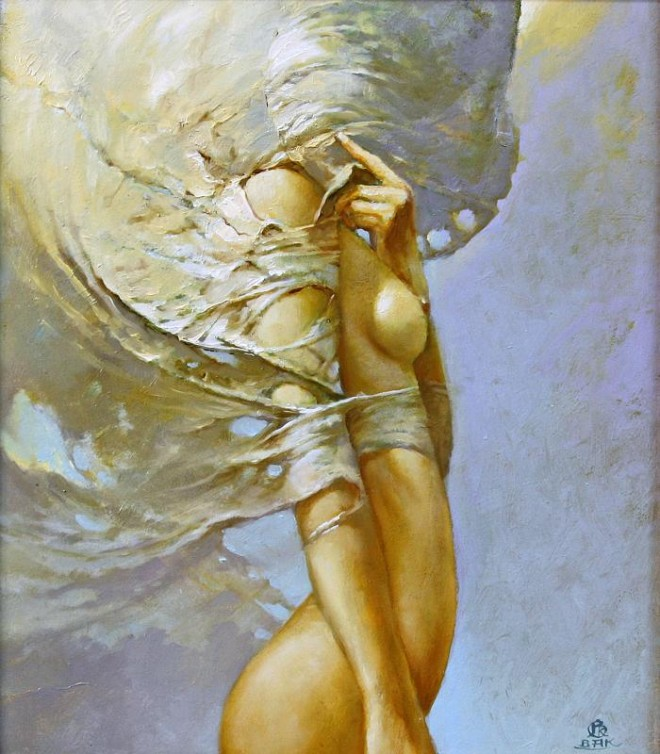 Fashion Cycle  - Paintings by Artist Karol Bak (10)