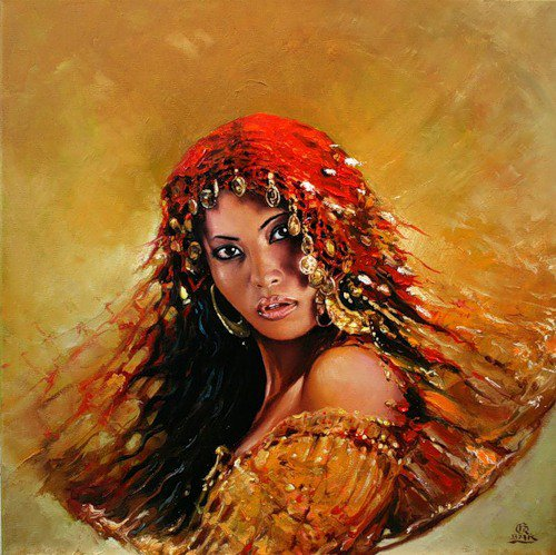 Fashion Cycle  - Paintings by Artist Karol Bak (13)
