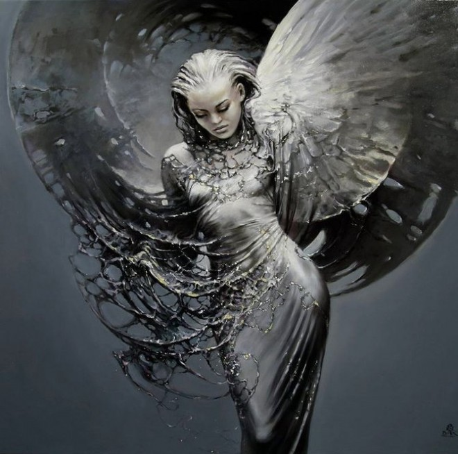 Fashion Cycle  - Paintings by Artist Karol Bak (14)