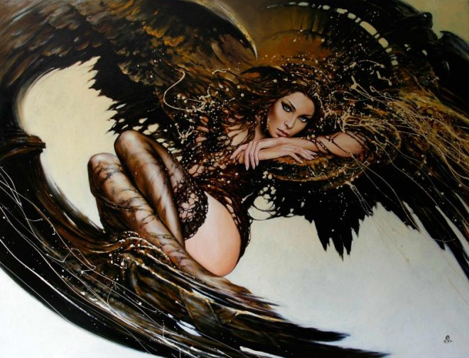 Fashion Cycle  - Paintings by Artist Karol Bak (2)