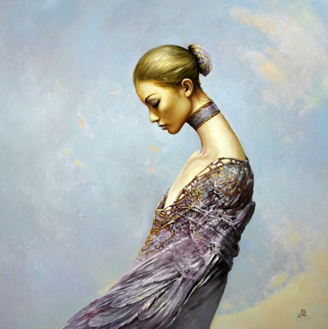 Fashion Cycle  - Paintings by Artist Karol Bak (6)